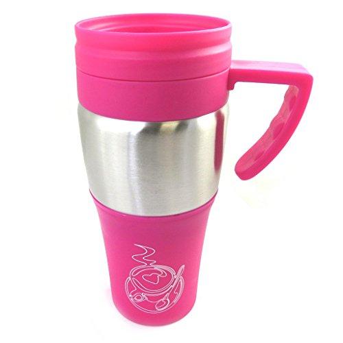 Les Trésors De Lily [M3931 - Mug de Transport 'Design' Rose