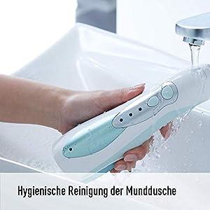 Panasonic Munddusche EW1311 mit Ladestation, 3-stufige Wasserstrahlintensität, abnehmbarer Wassertank, kabellos