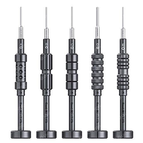 QianLi ToolPlus iThor Schraubendreher-Set, 5 Stück