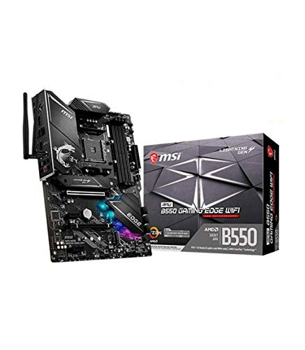 MSI MPG B550 Gaming Edge WiFi AMD AM4 DDR4 M.2 USB 3.2 Gen 2 WLAN 6 HDMI ATX Gaming Motherboard