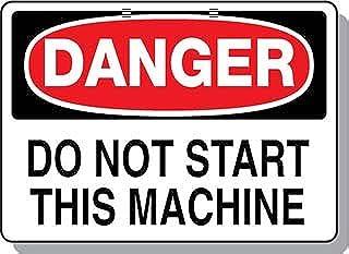 Beaed - DANGER Do Not Start This Machine