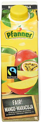 Pfanner Fairtrade Mango-Maracuja Nektar, 1l