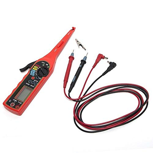 MDYHJDHYQ Auto-Tester Multifunktions-Auto Circuit-Tester Multimeter Lampen-Auto-Reparatur-Kfz-Bordmultimeter Auto-Diagnosewerkzeug (Color : with Screen, Size : Kostenlos)