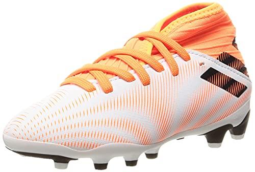 adidas Nemeziz .3 MG J, Zapatillas de fútbol, FTWBLA/NEGBÁS/NARCHI, 36 EU