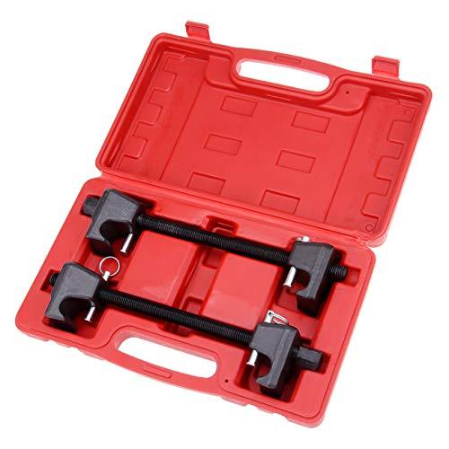 Ambienceo 2PC compressori per molle per MacPherson puntelli ammortizzatore auto garage Tool kit