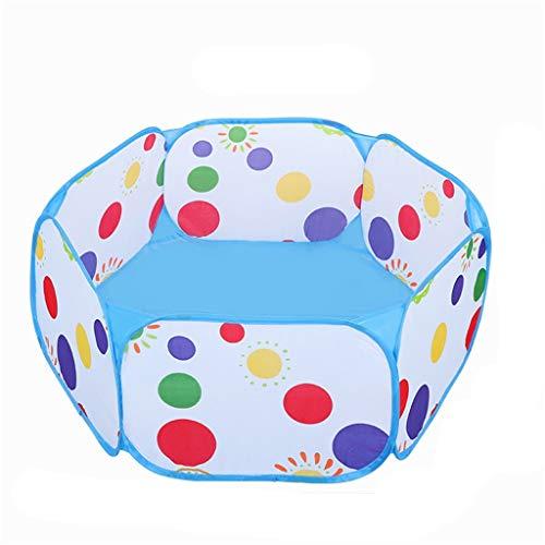 CSQ Plegada Ball Pool, hogar Seguro Ball Pool Kinder Juego de Pelota Piscina Four Seasons Tienda del Juego de Bola Cubierta Piscina Marine Casa de Juegos para niños (Size : 100 * 100 * 35CM)