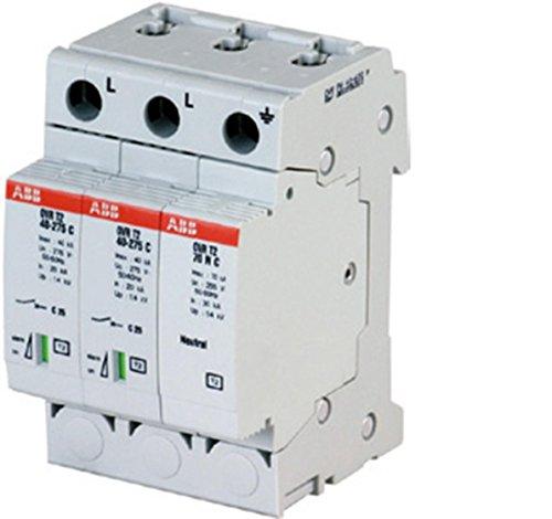 ABB OVR PV 40 600P Gris limitador de tensión - Regleta (Gris, A/V, 375 g, 53,4 mm, 64,8 mm, 85 mm)
