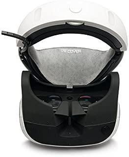 【2枚入り】PlayStation VR用カバー Windows MRヘッドセット対応 ベロア素材 VR Cover VRHMD保護カバー 洗濯可能