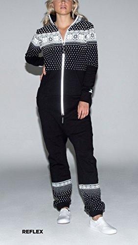 OnePiece Damen Jumpsuit Crystal, Schwarz (Black) - 6