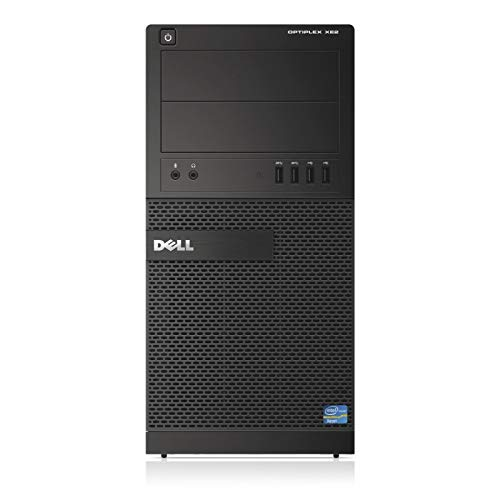 Dell OptiPlex XE2 Tower Computer, Intel Quad Core i5-4570S up to 3.6GHz, 16G DDR3, 256G SSD, Windows 10 Pro 64 Bit-Multi-Language Supports English/Spanish/French(Renewed)