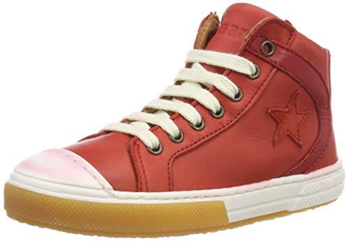 Bisgaard 31839.119, Zapatillas Altas Unisex niños, Rojo (Red...