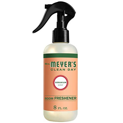 Mrs. Meyer's Clean Day Room Freshener, Geranium Scent, 8 ounce spray bottle