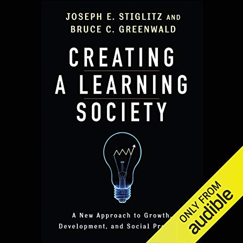 Creating a Learning Society audiobook cover art