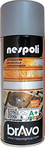 Aérosol spécial antirouille gris 400 ml, NESPOLI
