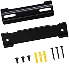 Wall Mount Kit for Bose WB-120 SoundTouch Solo 5 Soundbar CineMate 120 Speaker with All Necessary Screws (Black)