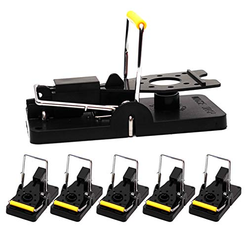 GERAWOO Mouse Trap with High Capture Rate, 6PCS Power Rat Traps That Work,...