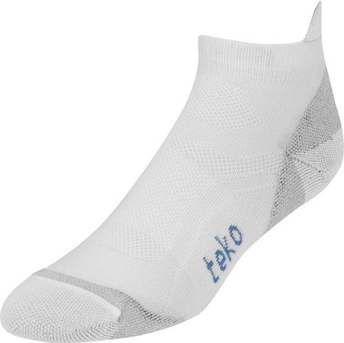Teko Poly Damen Light Low Socks Medium weiß/blau