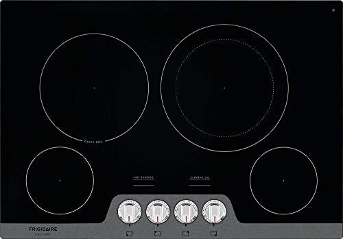 Frigidaire Gallery FGEC3048US 30 Stainless 4 Burner Electric Cooktop