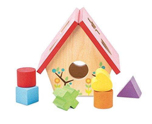 Le Toy Van - My Little Bird House - Trieur de Forme éducatif - Puzzle sensoriel pour bébé avec Blocs colorés - Convient pour Les Enfants de 1 an et Plus