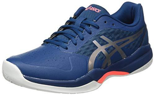 ASICS Gel-Game 7, Zapatos de Tenis Hombre, BLU Mako Blue Pure Silver, 46 EU