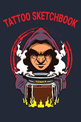 Tattoo Sketchbook: Skizzenbuch für Tätowierer   Körperkunst   Sketchbook für alle Tattooideen   Tatoo   Zauberer Kaffee Kanne