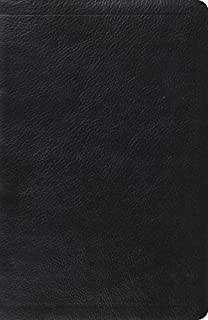 ESV New Classic Reference Bible (Calfskin, Black) by ESV Bibles by Crossway (2011-05-16)