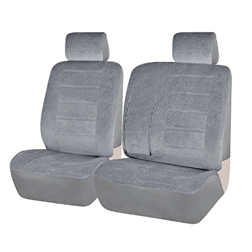 FH Group FH-CM305102 Custom Fit Seat Covers for Toyota Pickup 1990-1995, 60/40 Split Bench Seat Cover Gray