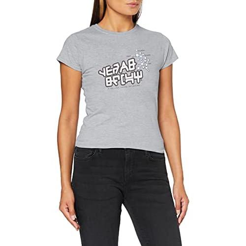 Marvel Guardians of The Galaxy Vol.2 Star Lord T Shirt, Grigio (Sports Grey Sp Gry), 42 (Taglia Unica: Medium) Donna