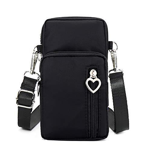 Horscrite Phone Bag Purse Wallet Crossbody Bag Lightweight Roomy Pockets Smartphone Sports Armband...