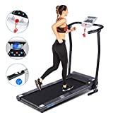 ANCHEER Treadmill, Treadmills for Home with LCD and Pulse Rate...