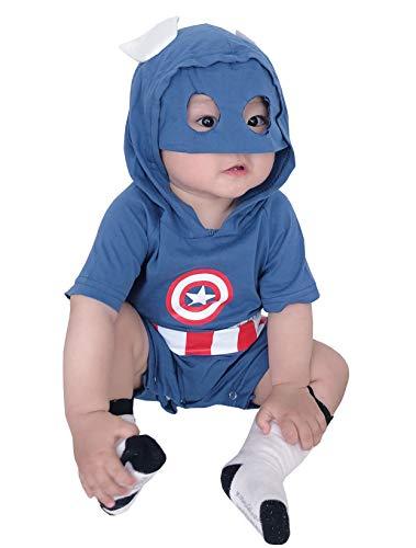 Symunnia Baby clothes boy 0-18 months Summer Newborn infant Bodysuit...