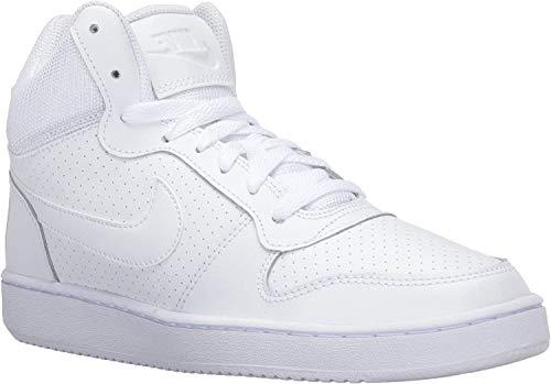 Nike Damen Wmns Court Borough Mid Basketball Turnschuhe, Weiß, 38.5 EU