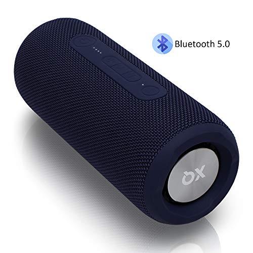 Bluetooth Lautsprecher 5.0 – Leistungsstark 24W [360° HD Sound] Musikbox mit Freisprechfunktion [IPX7 Wasserschutz] – Kabelloser Bluetooth Speaker, Party-Box, Dunkelblau von XQISIT – Jetzt Zugreifen