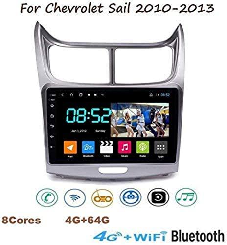 Lour Android 8.1 la Radio GPS, Pantalla táctil TV de Pantalla Plana 9 1080P estéreo para la Vela de Chevrolet 2010-2013 con la Rueda Llamada conexión Manos Libres Bluetooth Espejo SWC 8Cores.