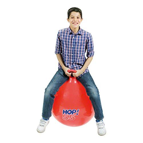 Sport-Tec Hüpfball, Sprungball, Hopsball, Springball, Hopser ø 55 cm, rot