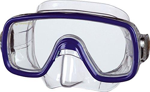 Beco Unisex Jugend Bahia Tauchermaske, blau, One Size