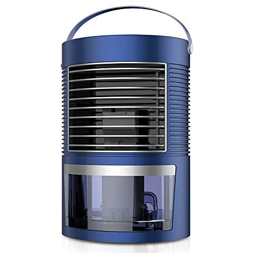AnAnmei Deumidificatore, con Serbatoio d'Acqua da 420 ml, Compatto e Portatile for Alta umidità in casa, Cucina, Camera da Letto, Bagno, Cantina, Caravan, Ufficio, RV, Garage (Nero) (Color : Blue)
