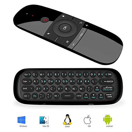RunSnail Universal Fernbedienung, Airmouse mit Tastatur und Maus Funktion für Android TV Boxen, Smart-TV, Computer, Laptop, Projektor, HTPC, Media Player