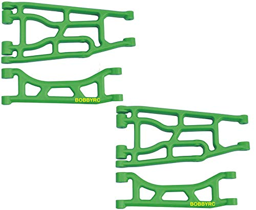 RPM A-Arm Set Front OR Rear Upper Lower Suspension Arms (Green)For Traxxas X-Maxx