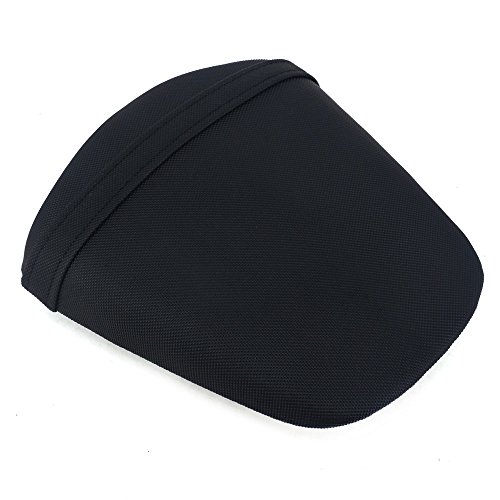 Motorcycle Seat Cushion Passenger Pillion Rear Comfortable Travel Seat Leather Pad For GSXR 600 GSX600R GSXR600 GSXR 750 GSX750R GSXR750 2011-2016 Dirt Bike Black