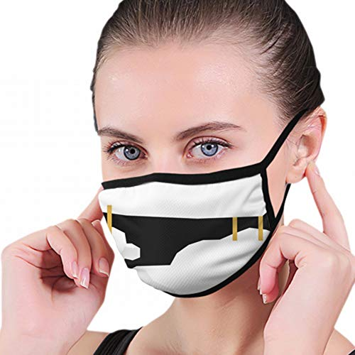 Mundmaske, Abstract Cute Paper Cut Schafmundschutz, Hygienemaske, Warmhalten bei Kälte, Schutz vor Staub, Keimen, Allergien, Rauch, Verschmutzung, Asche, Pollen für Männer, Frauen