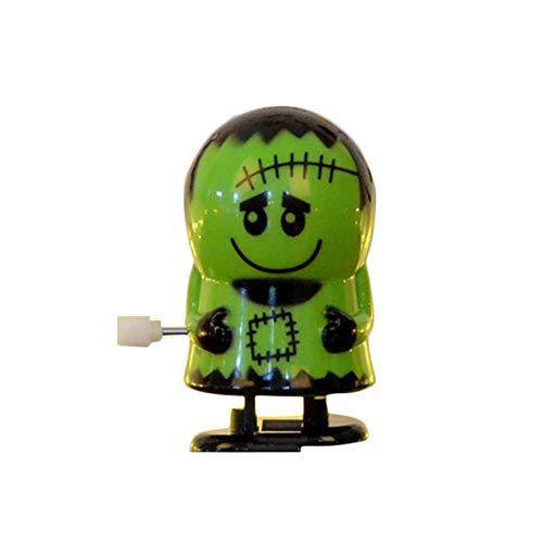Fansi - 1 Pieza de Robot para Halloween, decoración del hogar, Juguete para niños con Dibujos Animados, plástico, Verde, 6 * 3.5CM