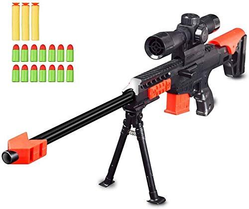 Toy Gun, Military Combat Barrett Sniper Rifle, Children Outdoor CS Soft Bullet Toy Sniper Rifle