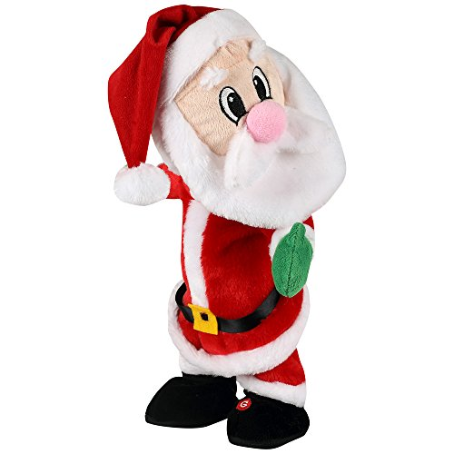 Gemmy Twerking Santa Bluetooth Plush – Compatible with Alexa