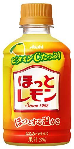 アサヒ飲料 「ほっとレモン」 280ml ×24本