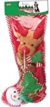 SPOT Ethical Christmas 688616 Holiday Dog Toy Stocking, 8 Piece/x Large