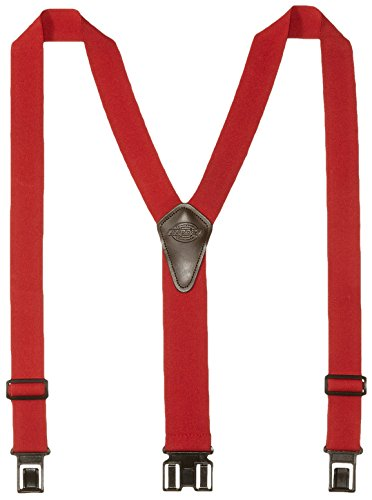 Dickies Men's Perry Suspender, Red, One Size