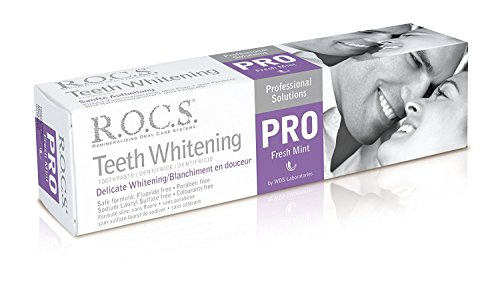 ROCS Pro Sanfte Aufhellung Fresh Mint Zahncreme 100ml