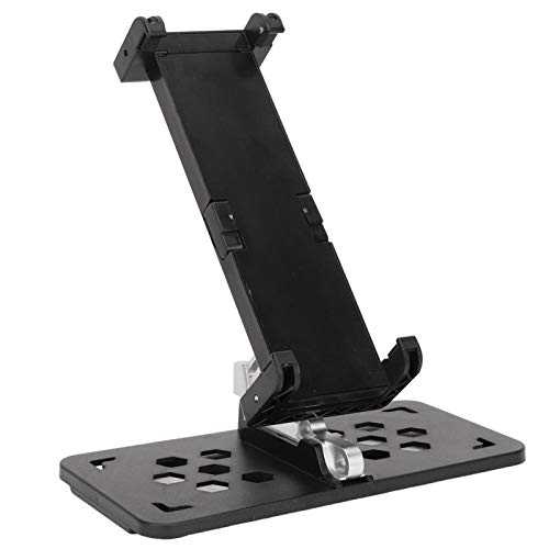 FOLOSAFENAR Soporte de Montaje para Tableta RC de Montaje Libre Giratorio de 360 ° Duradero Accesorio práctico de RC, para teléfonos Inteligentes, tabletas de 10,5 Pulgadas(Black)