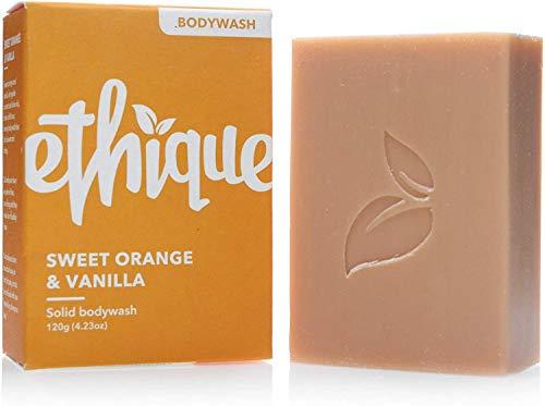 Ethique Body Wash Bar for All Skin Types - Sweet Orange & Vanilla -...